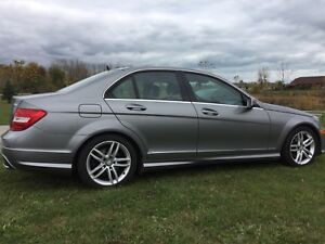 2012 Mercedes Benz C250 4matic for sale