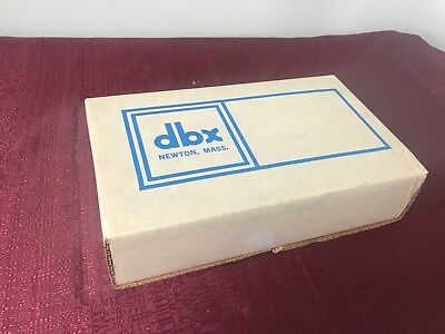 new old stock DBX 903 Comp Limit module for 900 series  Compressor Limiter NOS