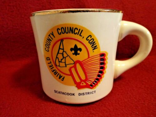 Fairfield County Council; SCATACOOK  Boy Scouts of America Coffee Mug Cup