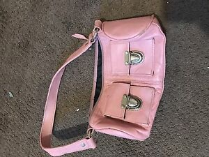 Pink purse and wallet
