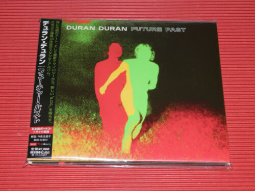 4BT DURAN DURAN FUTURE PAST WITH BONUS TRACK  JAPAN CD