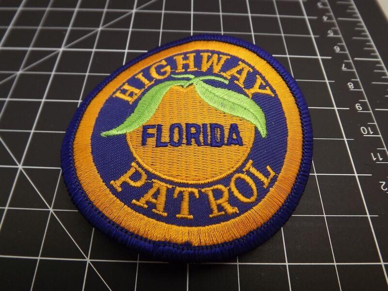 "FLORIDA HIGHWAY PATROL POLICE PATCH BRAND NEW 3"""