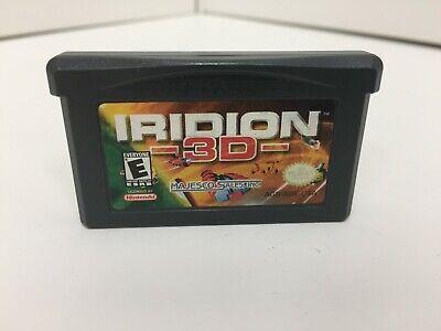 Iridion 3D (Nintendo Game Boy Advance, GBA)