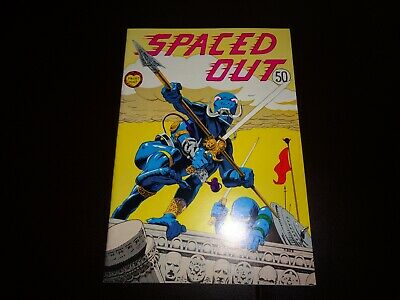 SPACED OUT #1 1972 PRINT MINT NM OR BETTER UNDERGROUND SCI-FI COMIC HIPPY