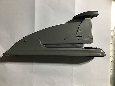 Vintage Swingline Speed Stapler 4 Desk Art Deco 8.5 Retro Industrial Gray Mint
