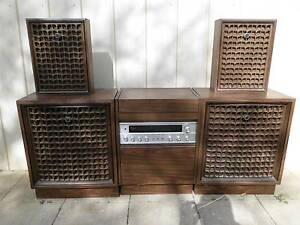 SANYO QUADROPHONIC RECORD PLAYER Croydon Maroondah Area Preview