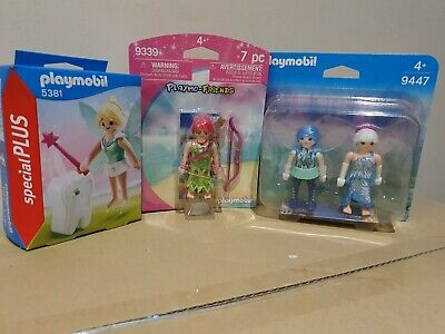 Playmobil Faries 3 Pack Clearance Bargain Inc Tooth Fairy 5331 Plus 9447 & 9339