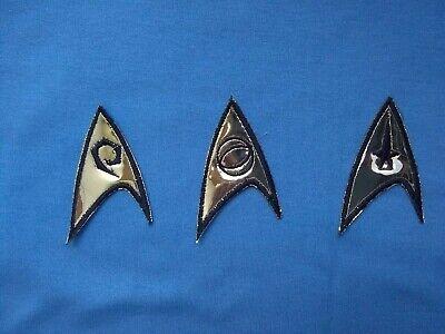 3 Star Trek TOS Uniform Patches