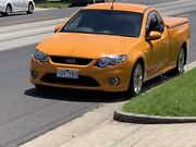 Ford Falcon Xr6 FG Ute Orange hard lid Gas Rego RWC P Plater Pascoe Vale South Moreland Area Preview