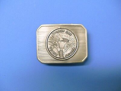 HOOVER DAM: NEVADA, ARIZONA METAL BELT BUCKLE