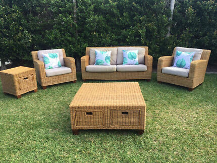 Natural Cane Wicker Indoor Or Outdoor Quality Lounge Set Can Deliver Part 38