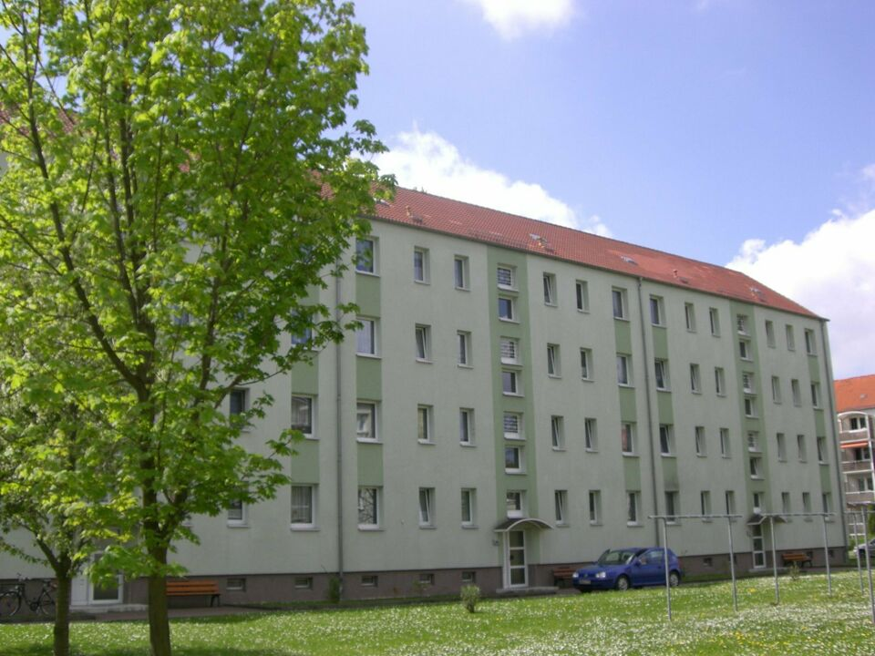 sanierte 3-Raumwohnung mit Balkon in Lucka W0230 in Lucka