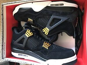 Brandnew air Jordan 4,royalty , size 10