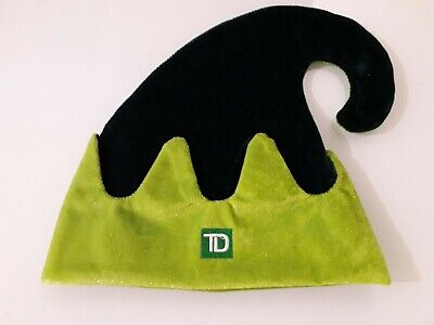 TD Bank Green Elf Hat one size