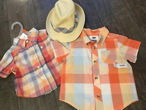 Joe Fresh Hat and Shirt Set