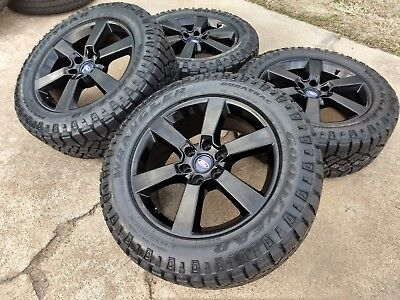 """20"""" Ford F-150 Expedition 2018 2019 FX-4 OEM BLACK rims wheels tires 10005 NEW for sale  Houston"""