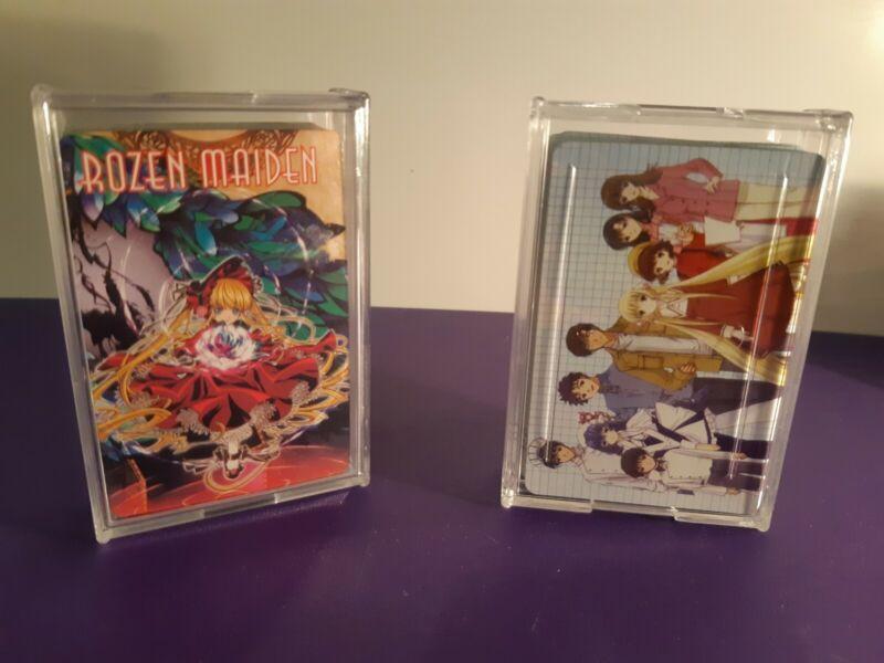 Anime Artwork Playing Cards * 2 Decks, * Rozen Maiden * Manga
