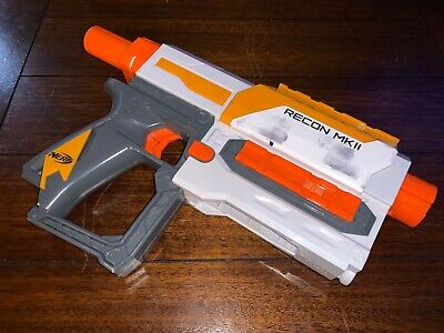 Nerf Modulus Recon MKII Blaster Orange Toy Gun Darts Hasbro MK2 N-Strike Elite