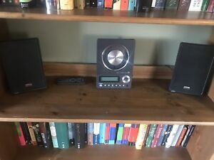 TEAK CD player with speakers and sub