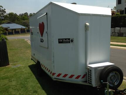 COFFEE-FOOD VAN Towable NOT Driven - NEARLY UNREGISTERED $15,000 Eatons Hill Pine Rivers Area Preview