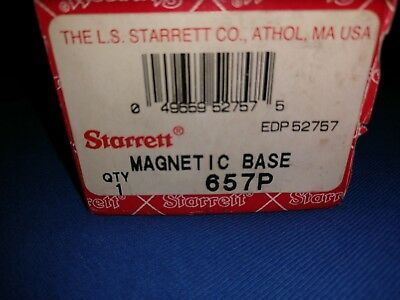 Starrett Magnetic Base Indicator Holder 657p