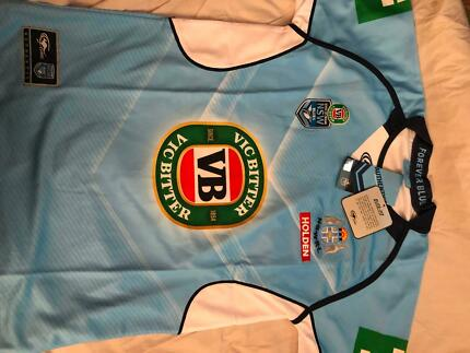 NSW Blues 2017 Mens Home Jersey Brand New W/Tags