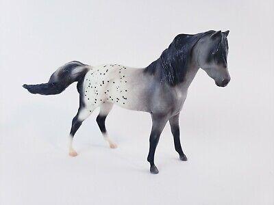 Vintage Breyer Reeves Black/White Hard Plastic Horse