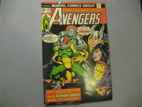The Avengers #135 (1975, Marvel)