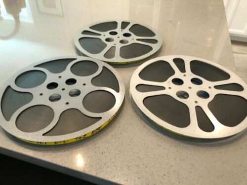 Full Feature **THE END** Burt Reynolds, Sally Fields Movie 16mm Low Fade Print