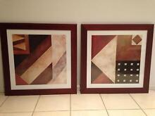Modern Wall Prints (Matching Double x 2) Prestons Liverpool Area Preview