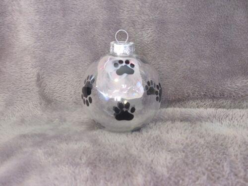 """HAND MADE COCKER SPANIEL 3/"""" GLASS CHRISTMAS ORNAMENT BALL"""