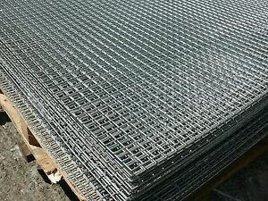 Welded Wire Mesh Panel 6'x3' Galvanised Steel Sheet 1