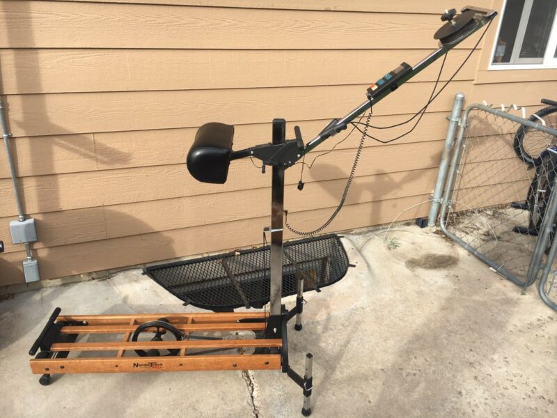 NordicTrack Pro Skier Machine - Monitor Ski Nordic Track Exercise Cross Country