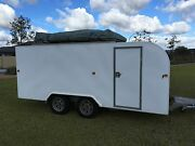 Enclosed Trailer with Roof Top camper The Vines Swan Area Preview