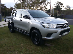 2016 Toyota Hilux SR Manual Dual Cab 4X4 Helensburgh Wollongong Area Preview