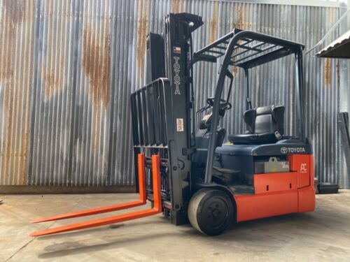 Reconditioned 2016 Toyota 8fbe15u 3-wheel Electric Forklift