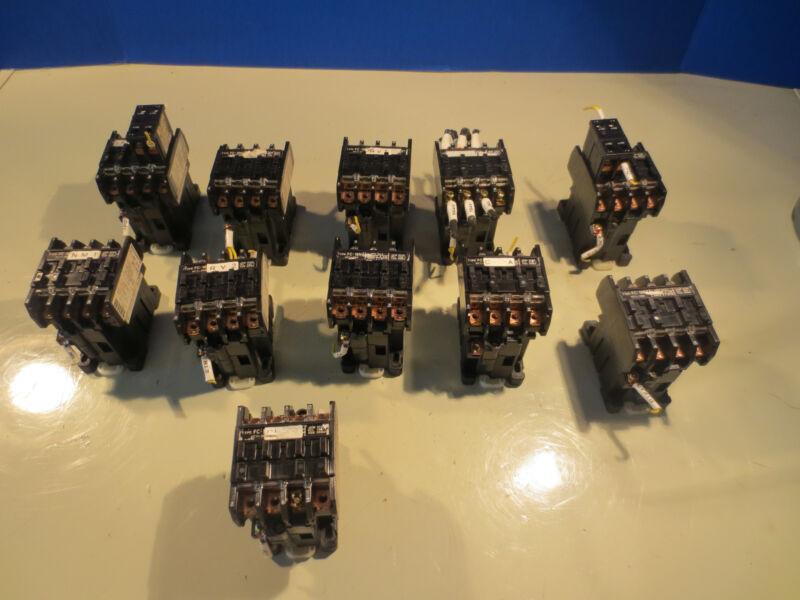 MATSUSHITA AC MAGNETIC CONTACTOR FC-18NZ 4A0B 100V