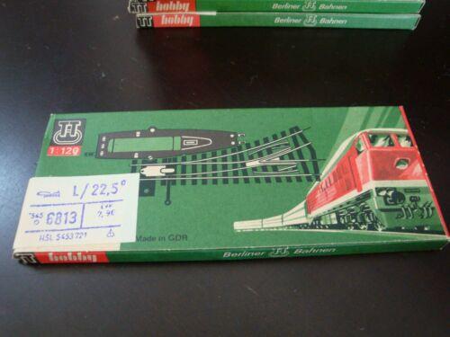 Berliner Bahnen Model TT Track #6813 NEW