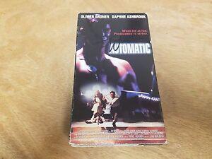 Automatic VHS Olivier Gruner NOT ON DVD cult scifi horror