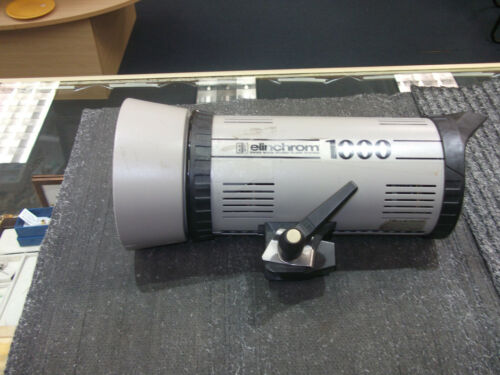 Elinchrom 1000 Monolight Studio Strobe Flash