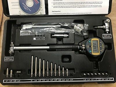 3 Bore Gauges In 1 From .7 To 6.00005 Absolute Digital Bore Gauge Ip54