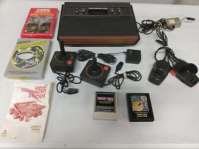 Atari CX2600A With Games, Accessories and Box