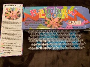 2 Rainbow Looms with box & instruction manual