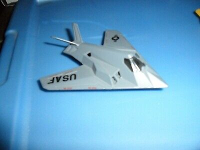 1990 Grey Matchbox F-117A Stealth Jet Fighter Airplane #SB-36 NM MINT Loose