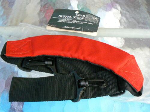 EDDIE BAUER SHOULDER STRAP / EDDIE BAUER RED GEAR DUFFEL BAG STRAP *NEW