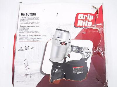 Grip-rite Grtcn90p Industrial 3-12 16d Pallet Nailer W Coil Magazine