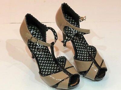 Ladies Jessica Simpson Patent Leather Heels - UK Size 4.5 - Absolute Bargain