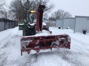 7' McKee snowblower