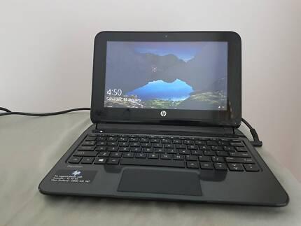 Hewlett-Packard Touchscreen Netbook Laptop