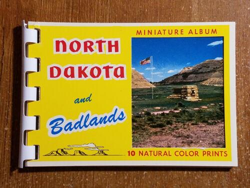 Souvenir Miniature Album of North Dakota and Badlands, 10 Photo Booklet